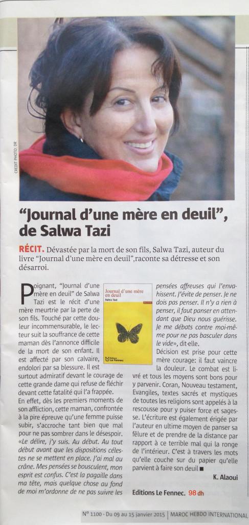 Journal Maroc Hebdo
